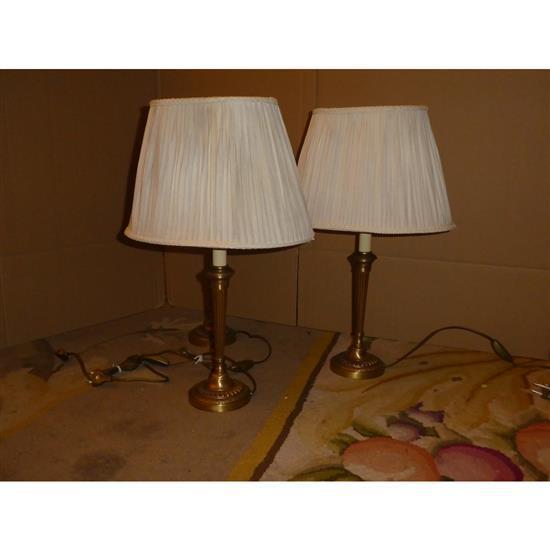 Cinq lampes, H 56 cm5 lamparas sobremesa H 56 cm