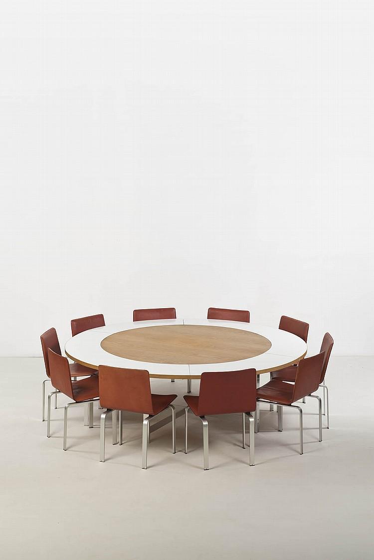 Jorgen Hoj (né en 1925) Ensemble composé d'une table