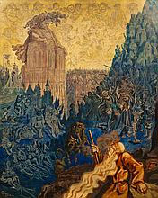 Gustave DORE (1832-1883) Le juif errant et Gargantua
