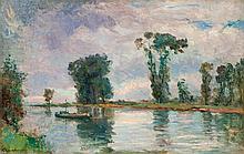 Albert LEBOURG (1849-1928) La Seine