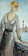 Kees VAN DONGEN (1877-1968) Venise, Princesse Russe