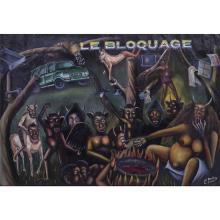 Pierre Bodo (1953-2015)Le bloquage, 2000