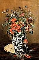 FRANÇOIS JOSEPH HUYGENS (1820-1908) - Bouquet