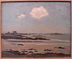 GASTON VAUDOU (1891-1957) - Le nuage, 1951