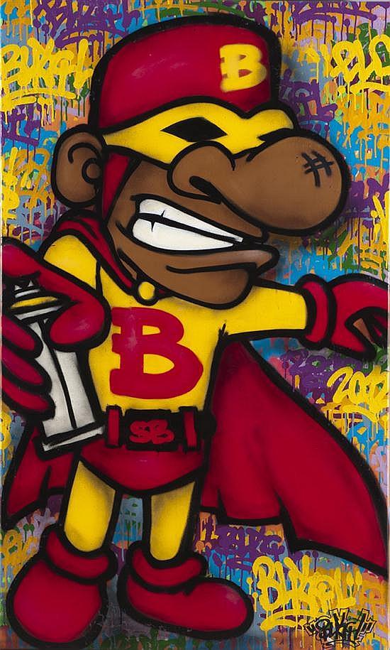 BUTCH (né en 1974) Super Butch, 2012