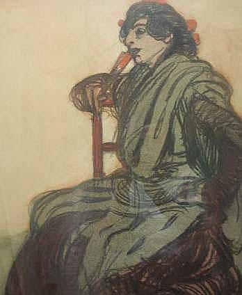 DETHOMAS Maxime (1867-1929) - Une espagnole 300 /