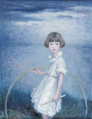 MADRASSI Ludovic Lucien (1881-1956) - Fillette au