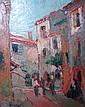 BELLINI Emmanuel (1904-1989) - Rue de la Turbie, Emmanuel Bellini, Click for value