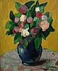 ROCHE Marcel (1890-1959) - Vase de fleurs, 1920, Marcel Roche, Click for value