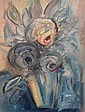 BOURGOGNE Gustave (1888-1968) - Fleurs dans un