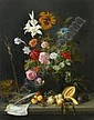 Jan Davidsz DE HEEM - Vanité au bouquet de fleurs, Jan Davidsz. De Heem, Click for value