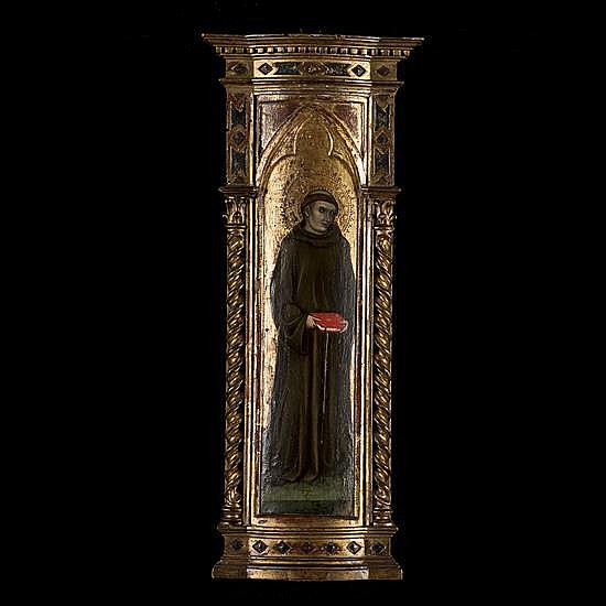 taddeo di Bartolo (Sienne vers 1362 - 1422)Saint Antoine de Padoue
