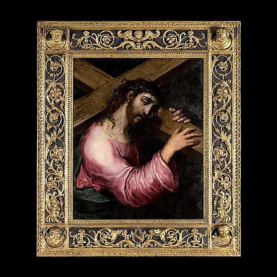 marco pino (1525- 1587/88)Le Christ portant la croix