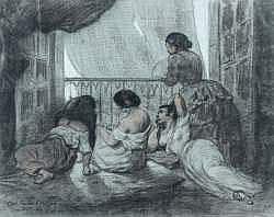 Félix-Joseph BARRIAS - Femmes se rafraîchissant