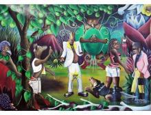 Pierre Bodo (1953-2015, République Démocratique du Congo)La confusion, 2010