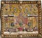 Manufacture de Beauvais Tapisserie de la tenture des Grotesques représentant les Musiciens, à décor d'un joueur de viole de gambe, u..