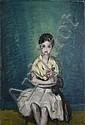 Ludovic Lucien MADRASSI (1881-1956) L'Enfant sage, Lucien Madrassi, Click for value