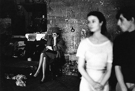 Sharok HATAMI (né en 1930) Maria Callas, c.1960 Épreuve gélatino-argentique d'époque. Cachet du photographe au dos. 25 x 36,7 cm ave..