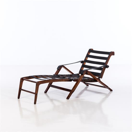 Marco zanuso 1916 2001 chaise longue mod le week end bois for Chaise modele