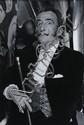 Sam Levin Portrait de Dalí Tirage argentique sur papier baryté, signé au dos