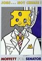 Roy Lichtenstein (1923-1997) Jobs… Not Cheese ! Lithographie signée au centre