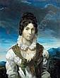 Théodore GÉRICAULT - Portrait présumé de Mme, Theodore Gericault, Click for value