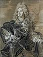 Hyacinthe RIGAUD (Perpignan 1659-Paris 1743) Portrait du marquis Néri Maria Corsini Crayon noir, estompe, rehauts de craie blanche e..., Hyacinthe Rigaud, Click for value