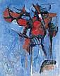 BERNARD DUFOUR 1922 - Composition, 1957, Bernard Dufour, Click for value