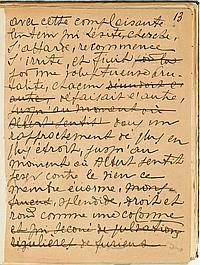 François-Paul ALIBERT (1873-1953). MANUSCRIT autographe, [Le Supplice d'une queue, vers 1930] ; un volume in-4 de 125 feuillets écri..