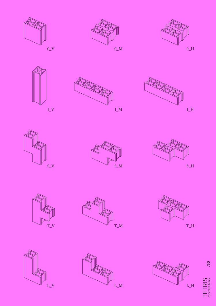 Gwendal Le Bihan Tetris - Atlas de Formes