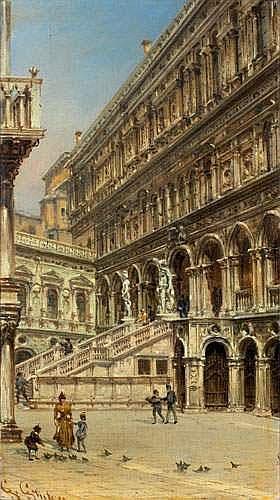 GIOVANNI GRUBACS (1829-1919) - LA COUR