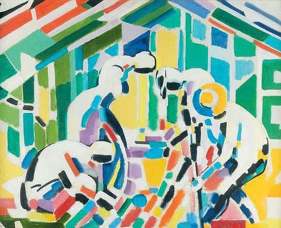 JACQUES LAGRANGE (1917-1995) - QUATRE
