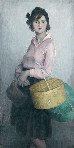 LUDOVIC LUCIEN MADRASSI (1881-1956) - UN TROTTIN