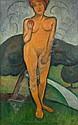 ROGER DE LA FRESNAYE (1885-1925) - EVE DEBOUT,, Roger de la Fresnaye, Click for value