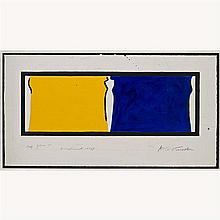 Aki Kuroda (né en 1944)Croquis pour la fresque