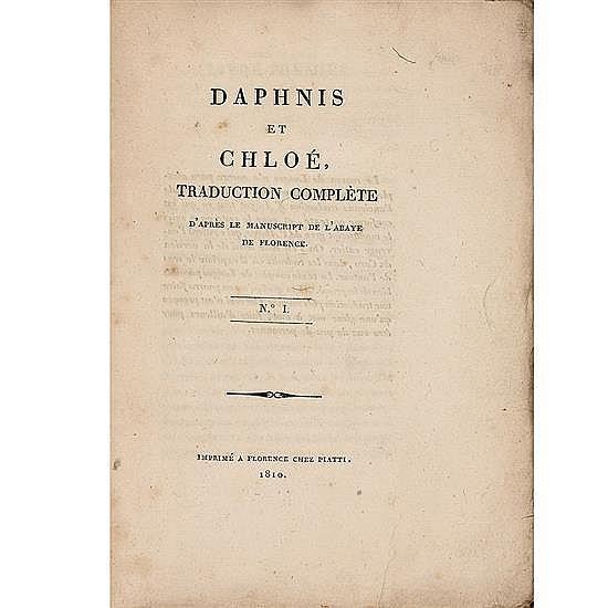 LONGUS & Paul-Louis COURIERDaphnis et Chloé, traduction complète
