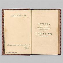 [Louis XVI]. CLÉRY, Jean-Baptiste Hanet, ditJournal de ce qui s'est passé à la Tour du Temple pendant la captivité