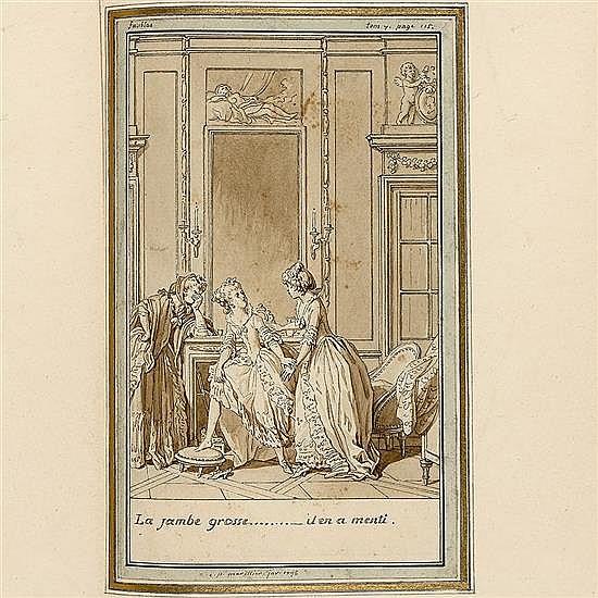 LOUVET DE COUVRAY, Jean-BaptisteLes Amours du chevalier de Faublas