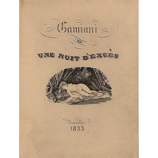 [MUSSET, Alfred de]Gamiani ou Une Nuit d'excès