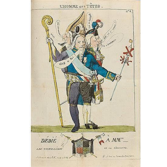 [NAPOLÉON]. [CAUCHOIS-LEMAIRE, Louis-Augustin-François]La Nain jaune, ou Journal des Arts, des Sciences et de la Littérature