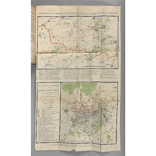 [NAPOLÉON]. TARDIEU, AmbroiseRelation anglaise de la bataille de Waterloo