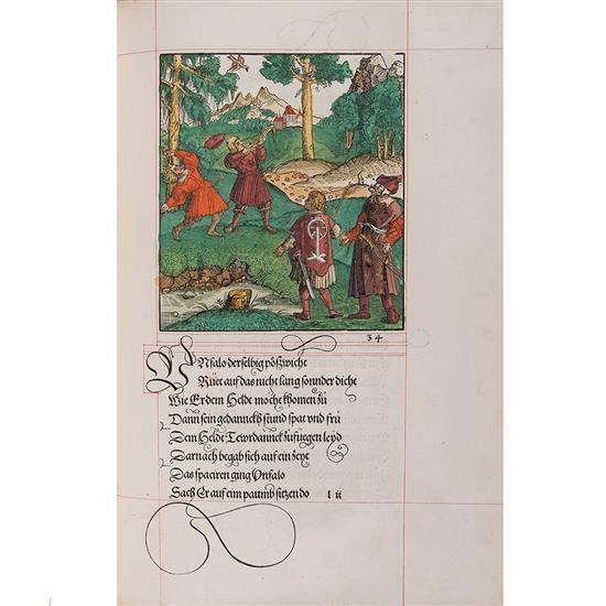 PFINTZING, Melchior [Theuerdank]