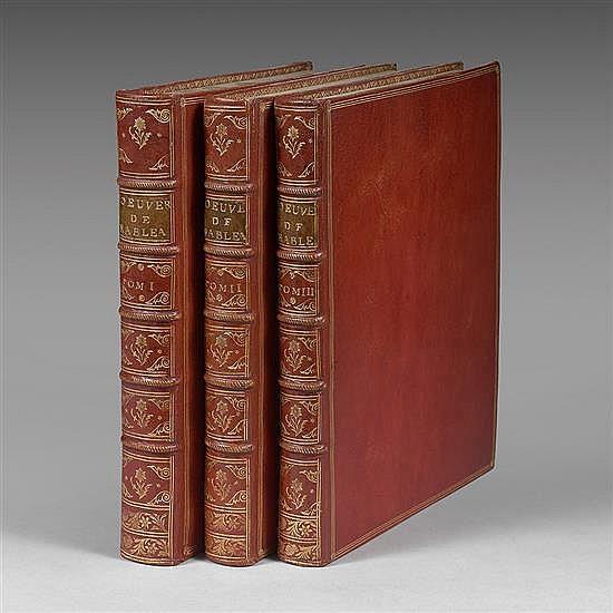 RABELAIS, FrançoisŒuvres de Maître François Rabelais, avec des Remarques historiques et critiques