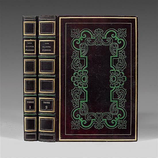 Les Saints ÉvangilesParis, L. Curmer, 1836