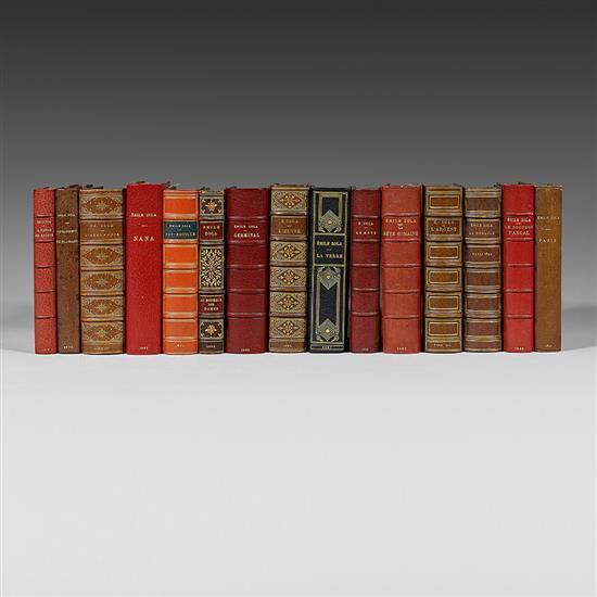 ZOLA, Émile La Conquête de Plassans Paris, Charpentier et Cie, 1874 ÉDITION ORIGINALE sans grand papier In-12 (180 x 113mm)