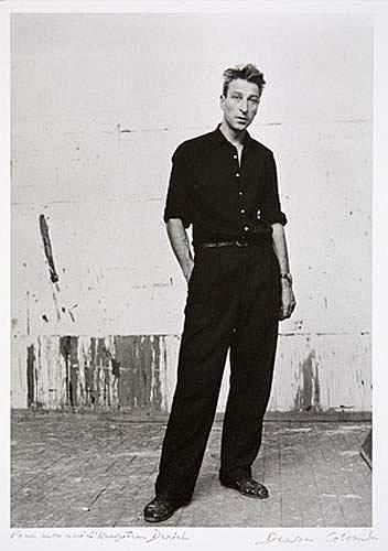 DENISE COLOMB (1902-2004) - Nicolas de Staël dans