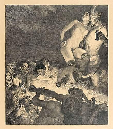 Otto GREINER - Der Teufel zeigt das Weib dem Volke