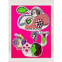 Niki De Saint Phalle Paintings For Sale Niki De Saint Phalle Art
