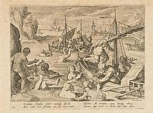 Jan van DER STRAET DIT STRADANUS (1536-1605)
