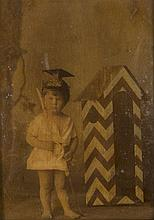 Anonyme Portraits d'enfants, de femmes et d'hommes